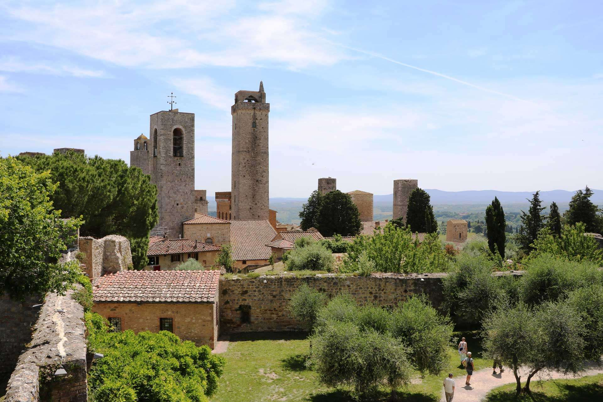 How to Climb Tuscany's Towers with Your Kids