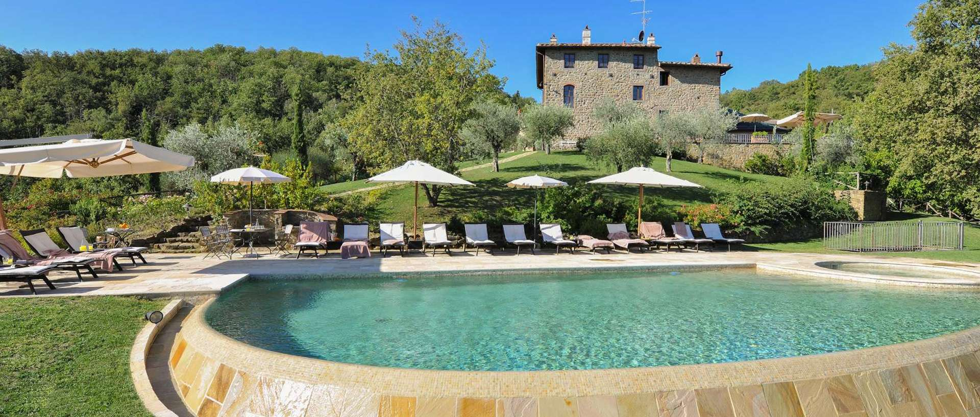 5 Villas for a Family Reunion in Tuscany